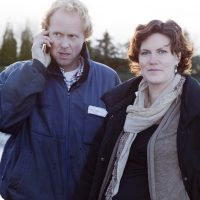 Rutger Daamen en Anneke Koster